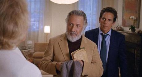 "Dustin Hoffman and Ben Stiller in Noah Baumbach's ""The Meyerowitz Stories (New and Selected)."""