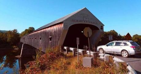 The Cornish-Windsor covered bridge near Hanover, New Hampshire, is the longest in New England.