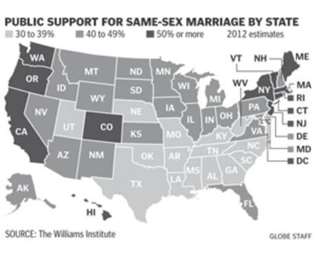 Gay marriage boston globe