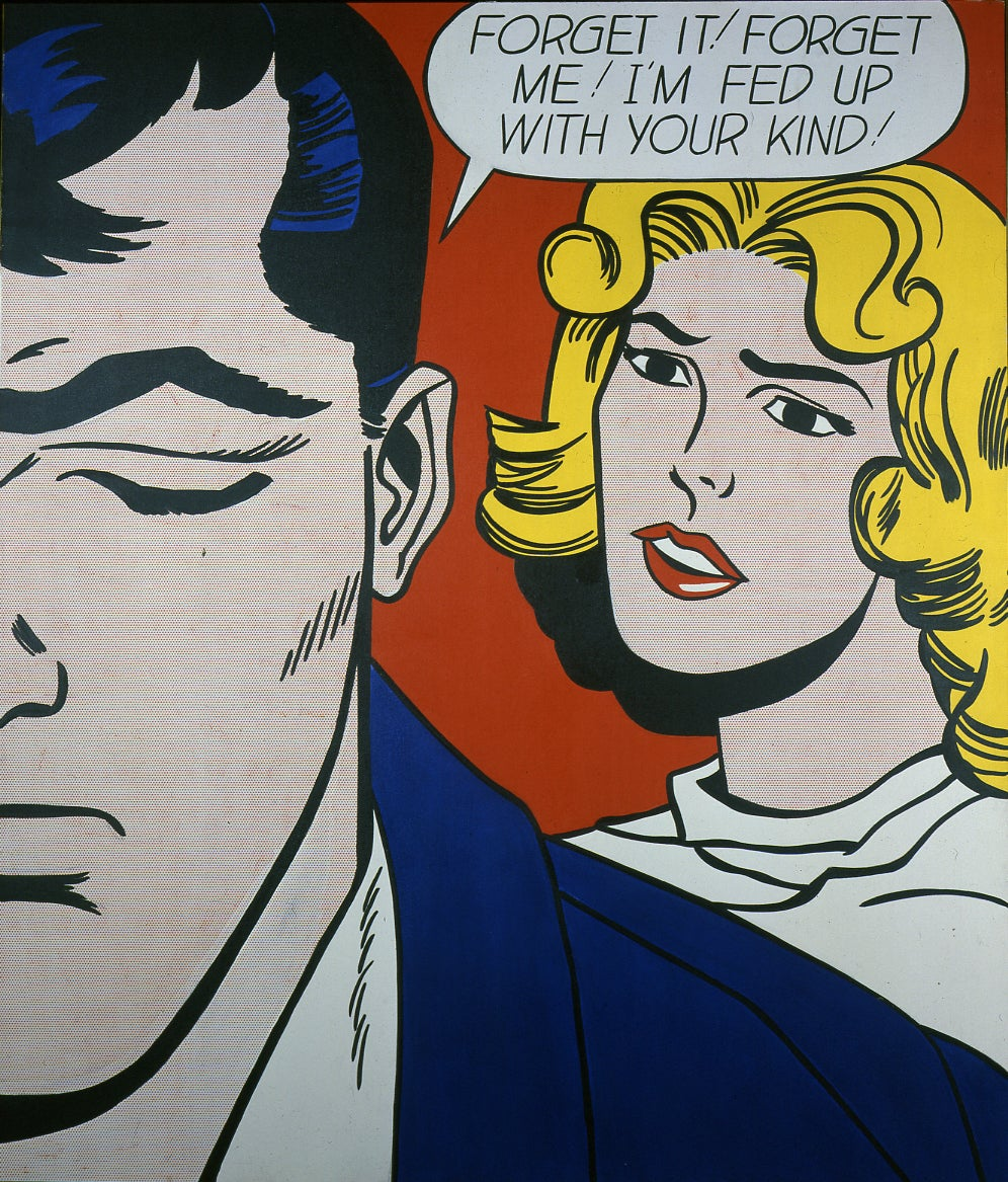 Choosing the 50 greatest paintings in new england the - Roy lichtenstein pop art ...