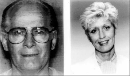 The photos on the FBI's original Wanted poster shows Bulger in 1993 and Greig in 1994. (AP photo/FBI handout)