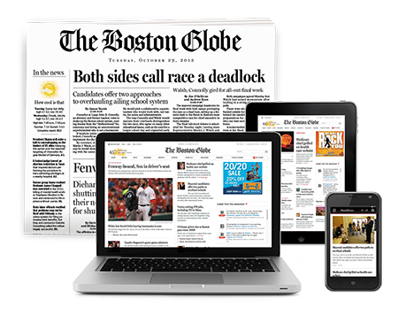 Get the Boston Globe on all your devices