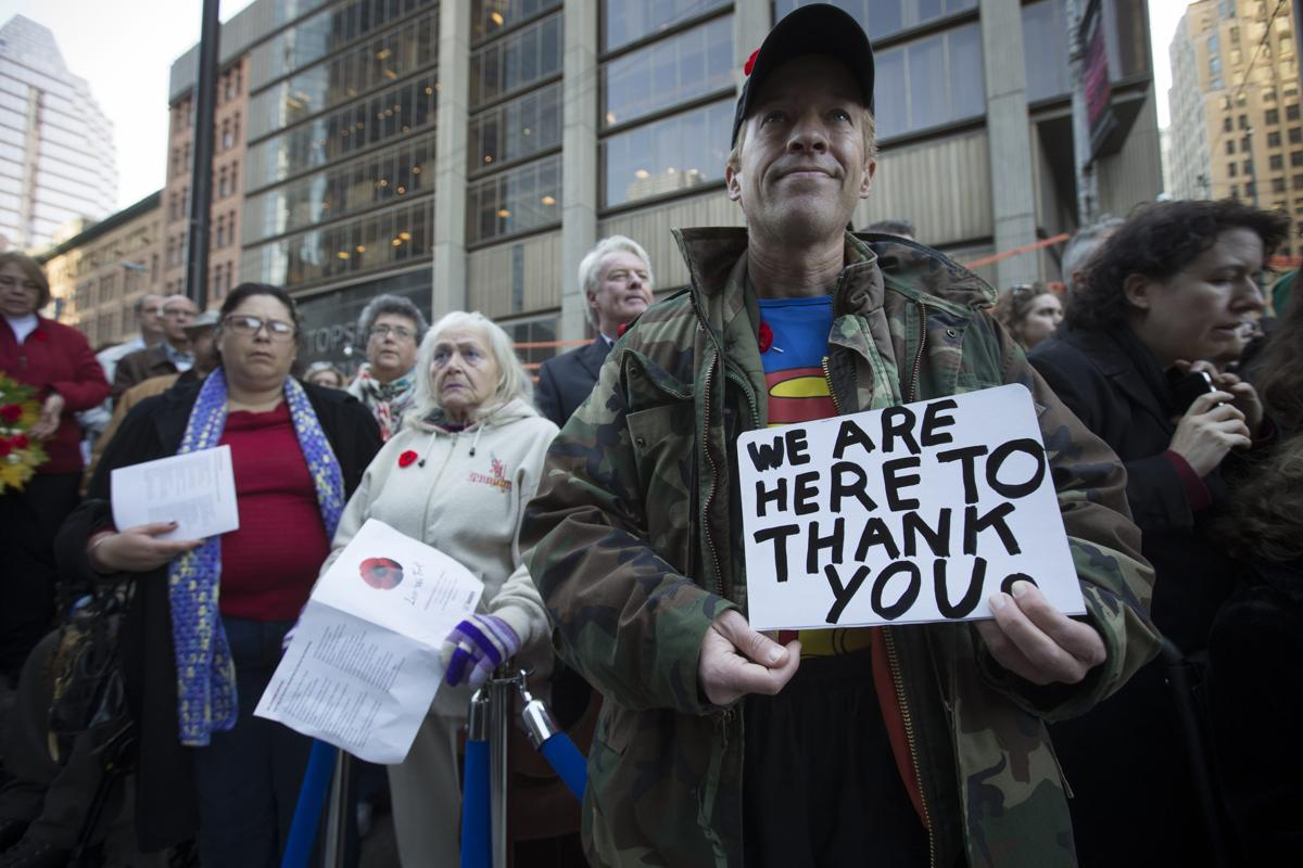 veterans day 2014 the boston globe