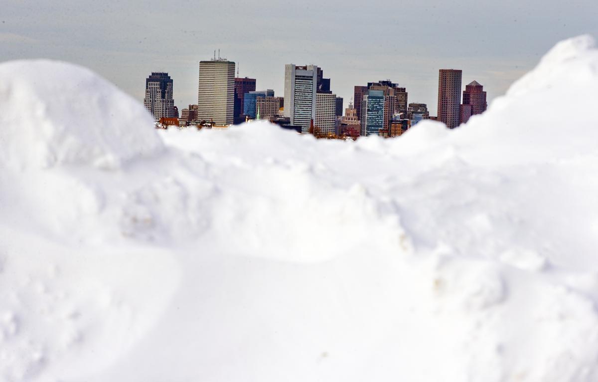 Massive Snowstorm Hits Northeast The Boston Globe