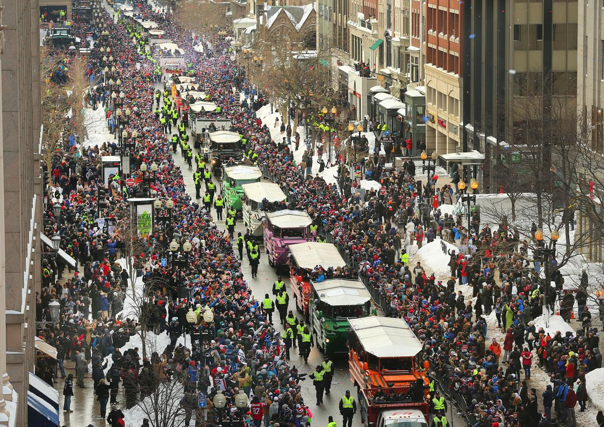 Image result for patriots superbowl parade
