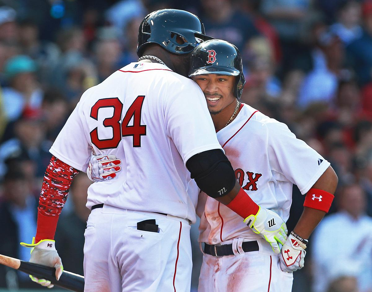 Opening Day At Fenway Park 2015 The Boston Globe