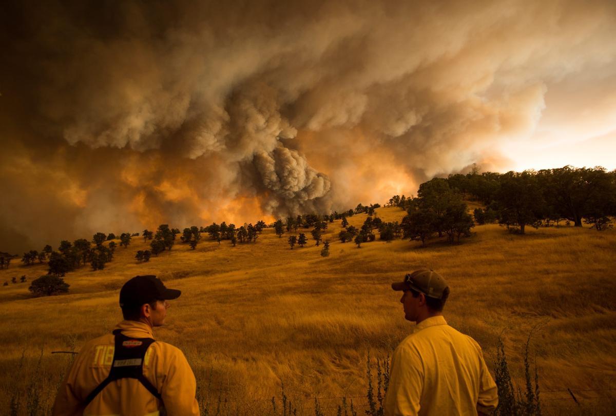 Espectaculares fotos de los incendios de California 04869472