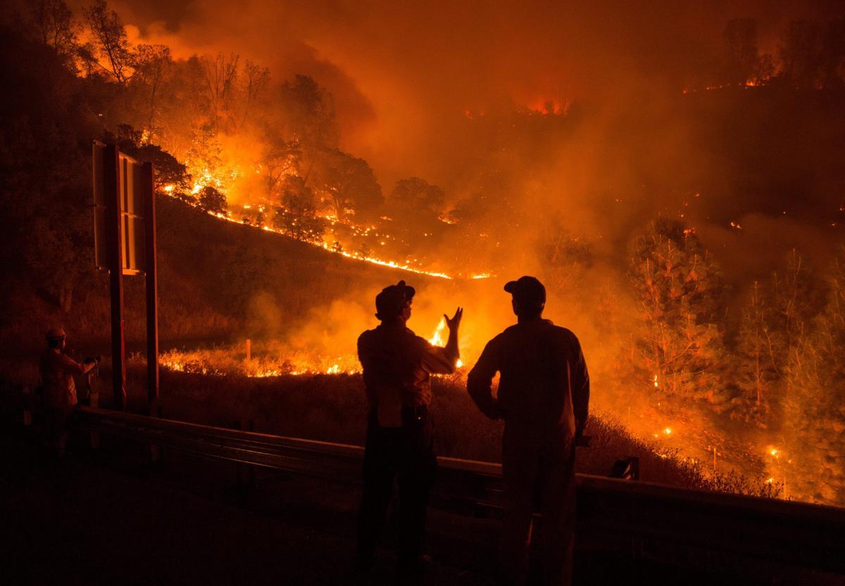Espectaculares fotos de los incendios de California 04869799