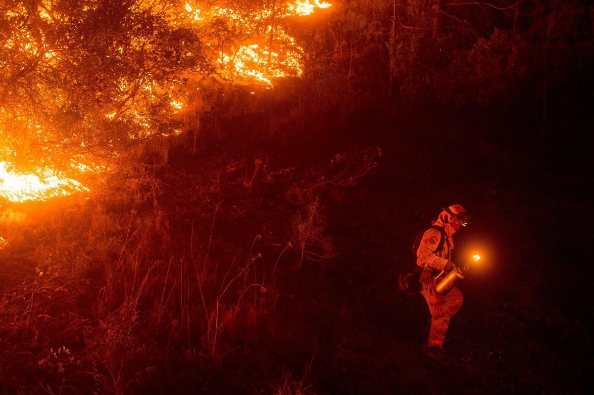 Espectaculares fotos de los incendios de California 04869806