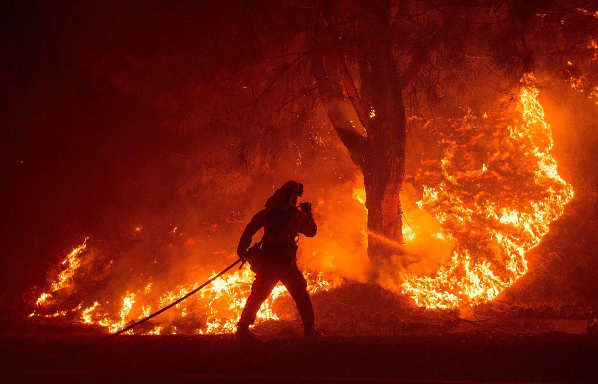 Espectaculares fotos de los incendios de California 04869809