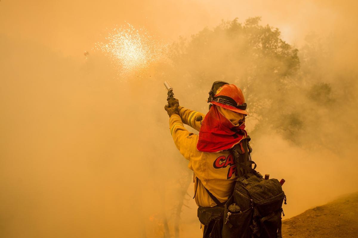 Espectaculares fotos de los incendios de California 04870342