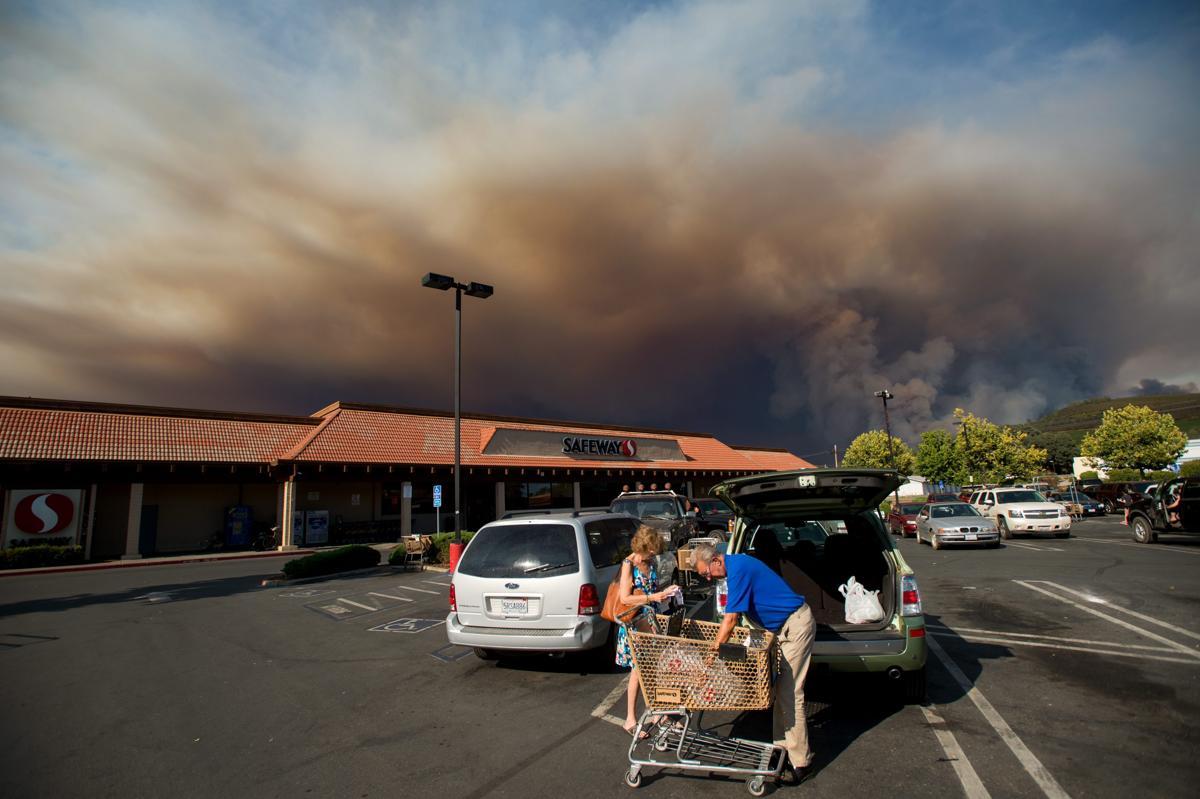 Espectaculares fotos de los incendios de California 04870376
