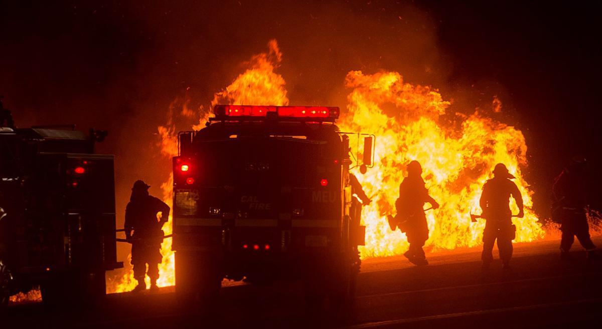 Espectaculares fotos de los incendios de California 04870379