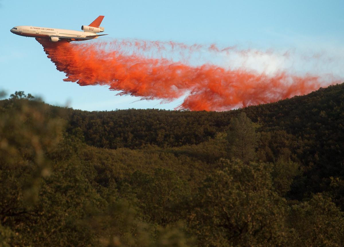 Espectaculares fotos de los incendios de California 04870381
