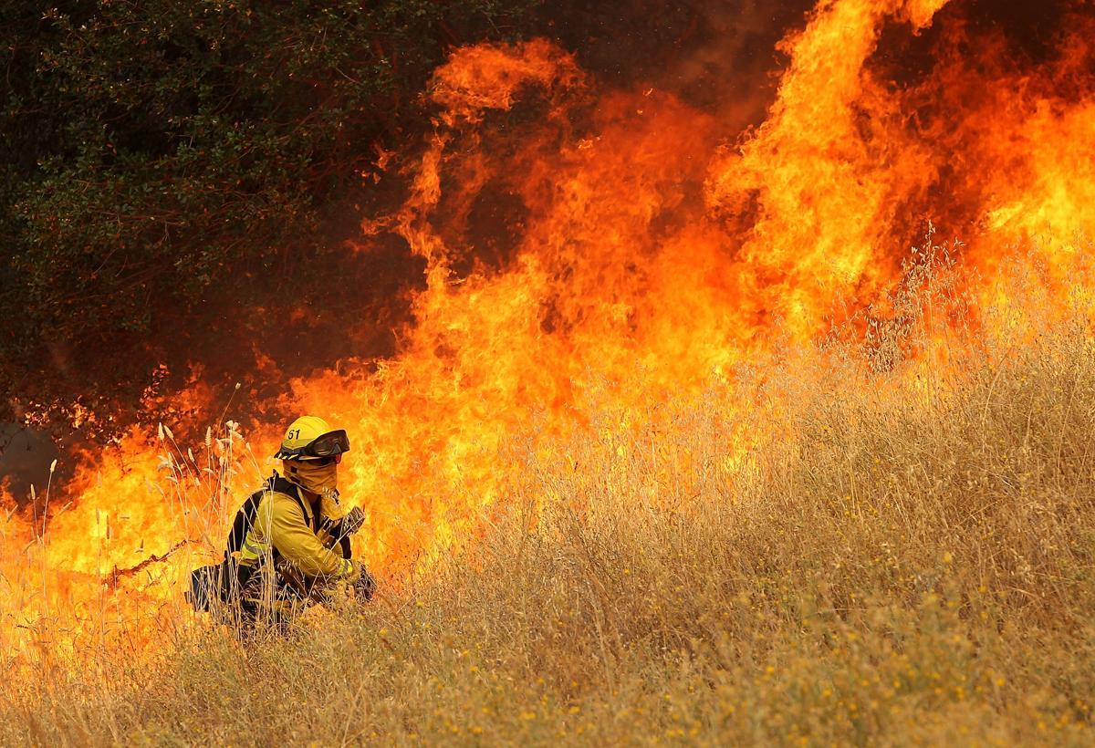 Espectaculares fotos de los incendios de California 482395486