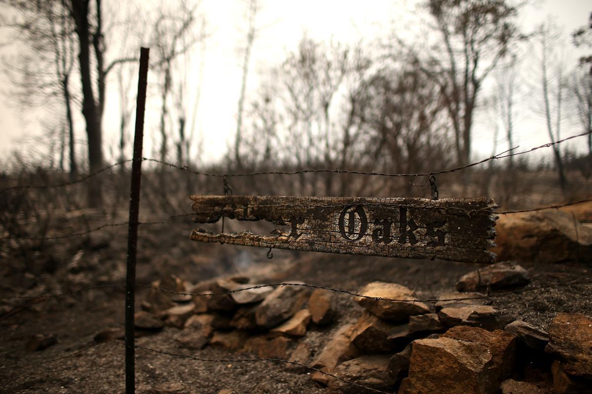 Espectaculares fotos de los incendios de California 482410488
