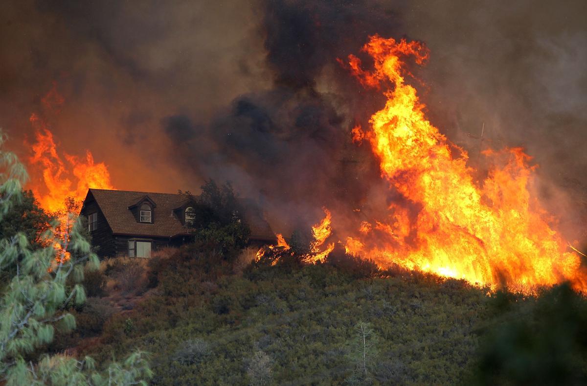 Espectaculares fotos de los incendios de California 482608228