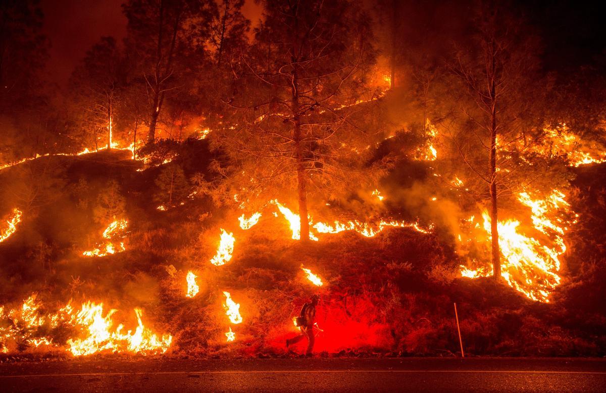 Espectaculares fotos de los incendios de California 04869807
