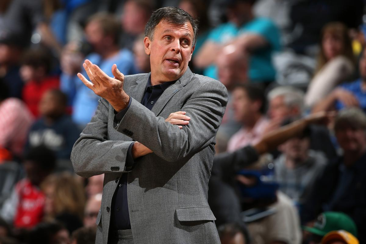 Kevin McHale likes what he sees from the Celtics