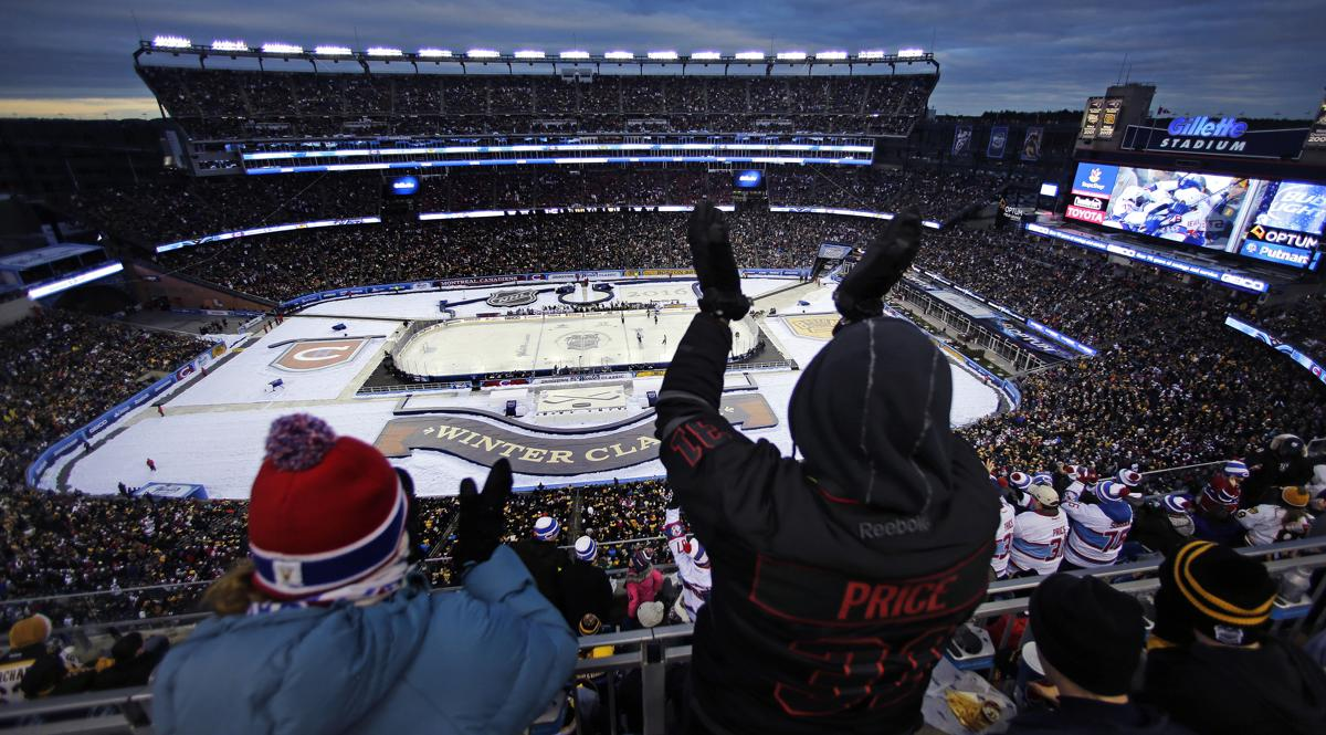 The Bruins will play the Chicago Blackhawks in the 2019 Winter Classic at  Notre Dame Stadium 5998db4ee