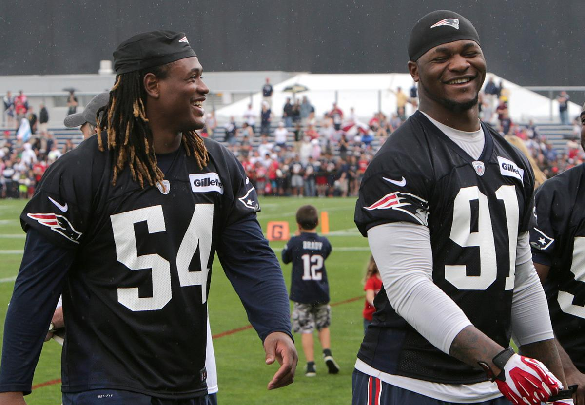 Jamie Collins absent from Day 1 of Patriots training camp