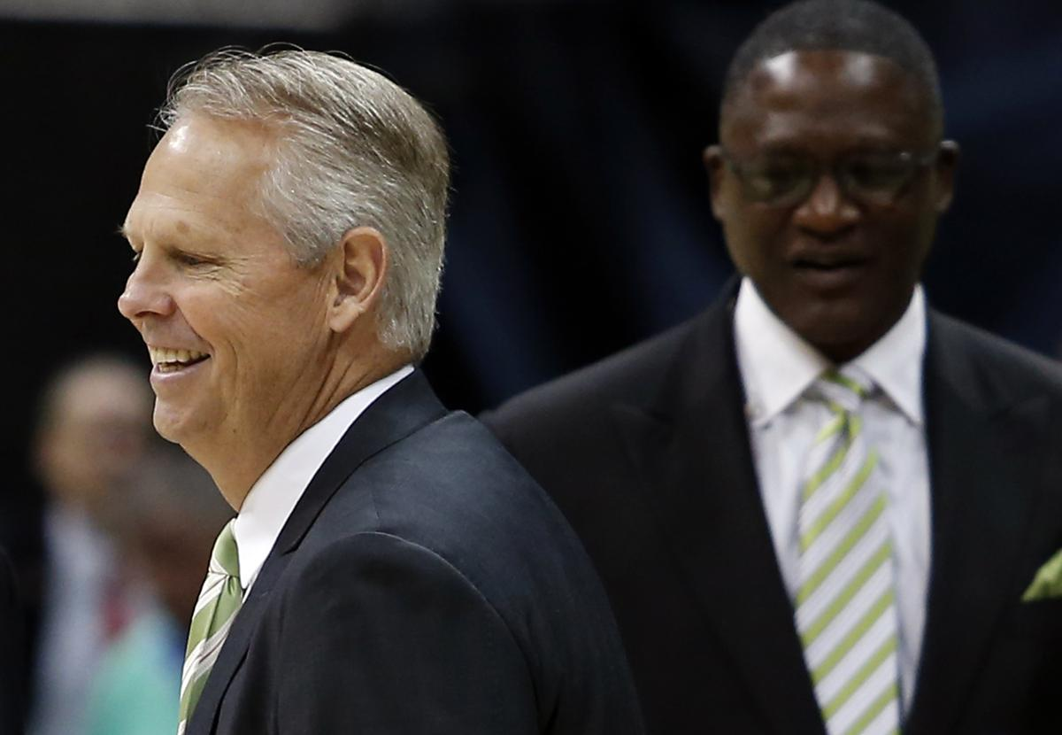 Ainge Wilkins are right in the teeth of Celtics Hawks playoff history