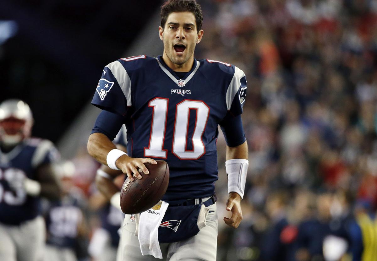Image result for jimmy garoppolo images