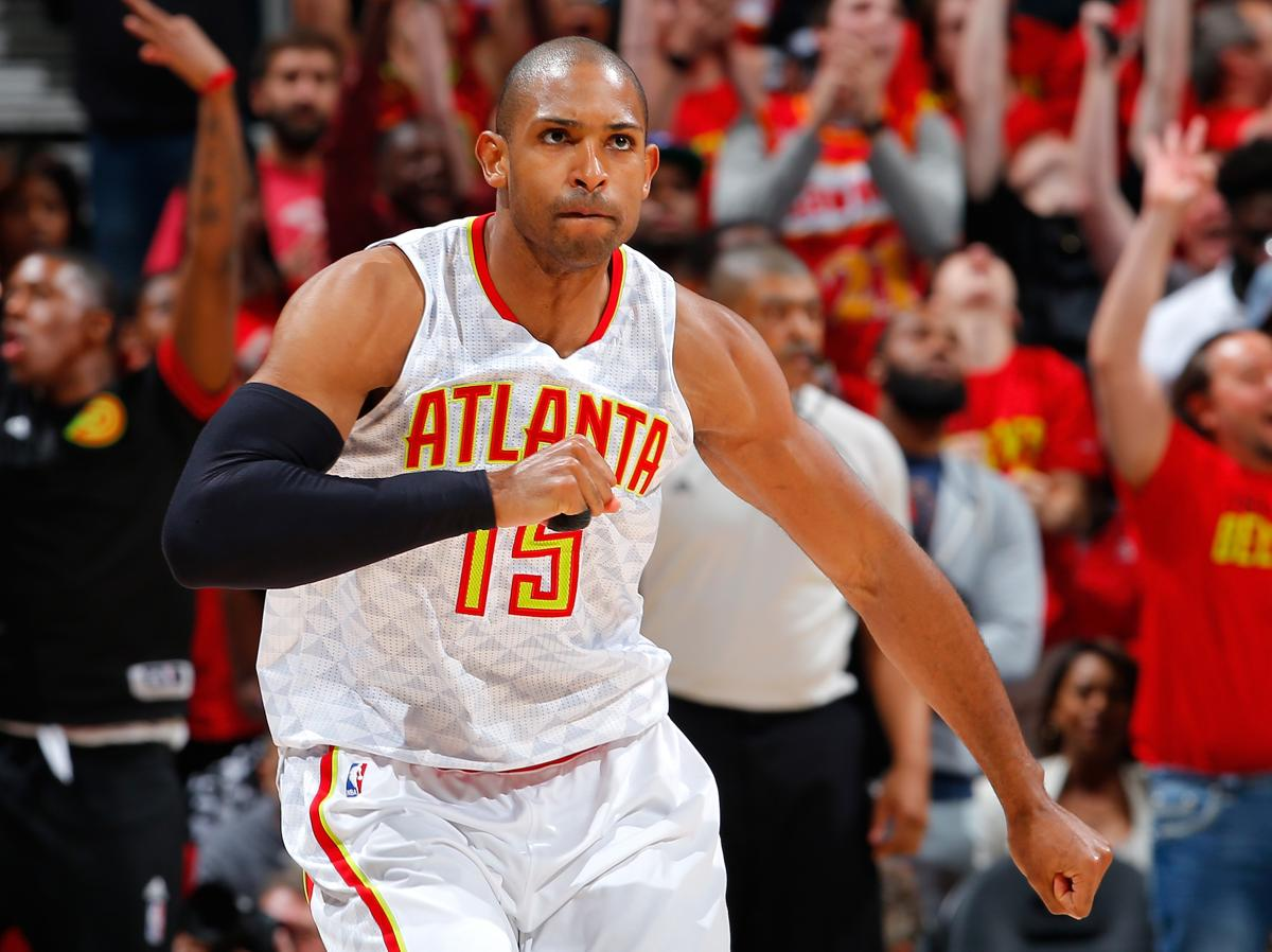 612bb1e90 Al Horford has been named to four All-Star Games.
