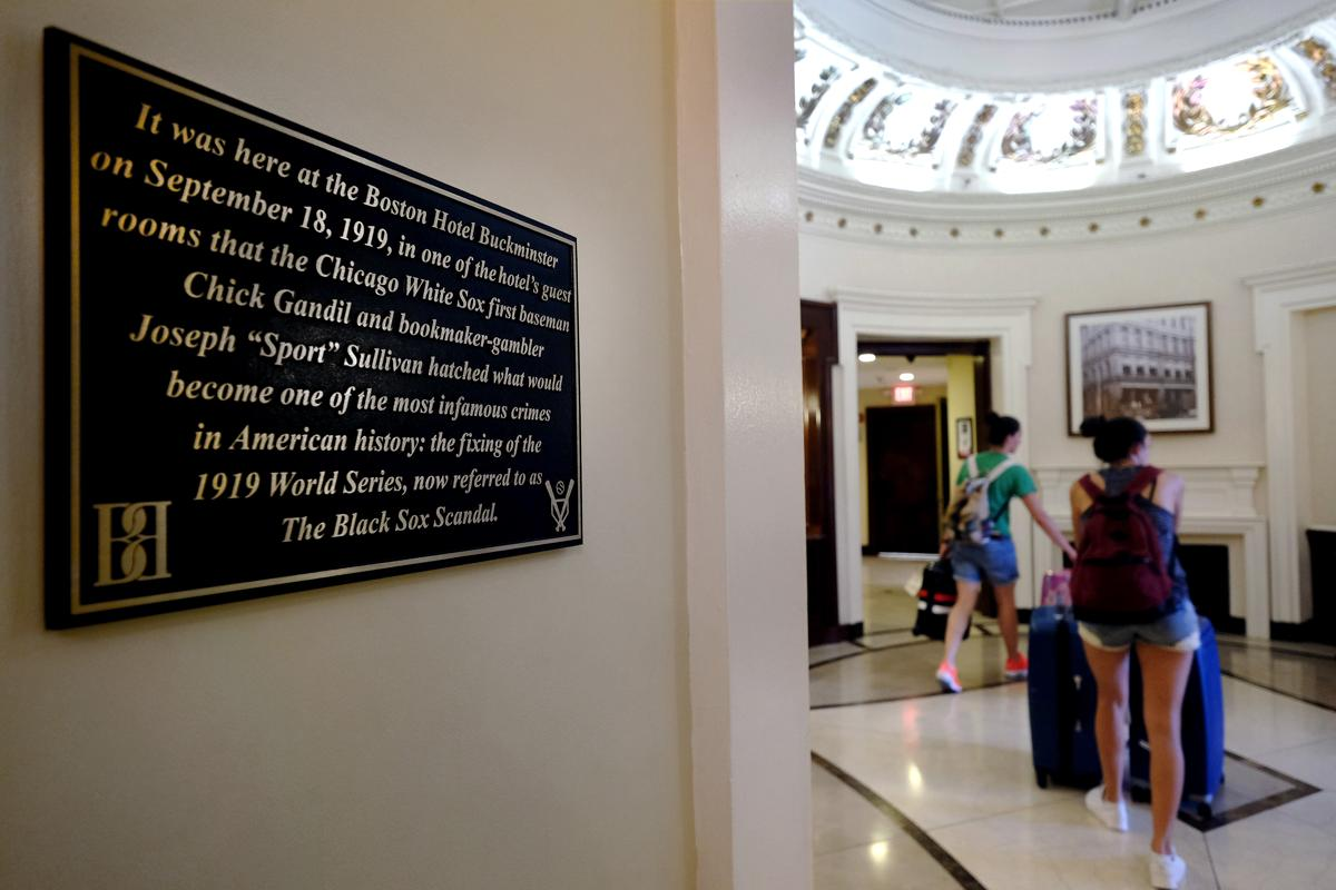 dan shaughnessy re ing buckminster hotel the birthplace of a plaque hangs in the lobby of the buckminster hotel commemorating where the plan was hatched