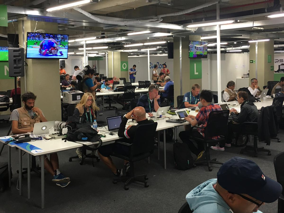 olympic press center is a journalist u0027s home away from home