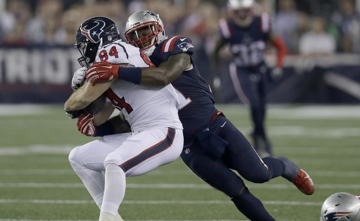Jamie Collins is hitting on all cylinders so far