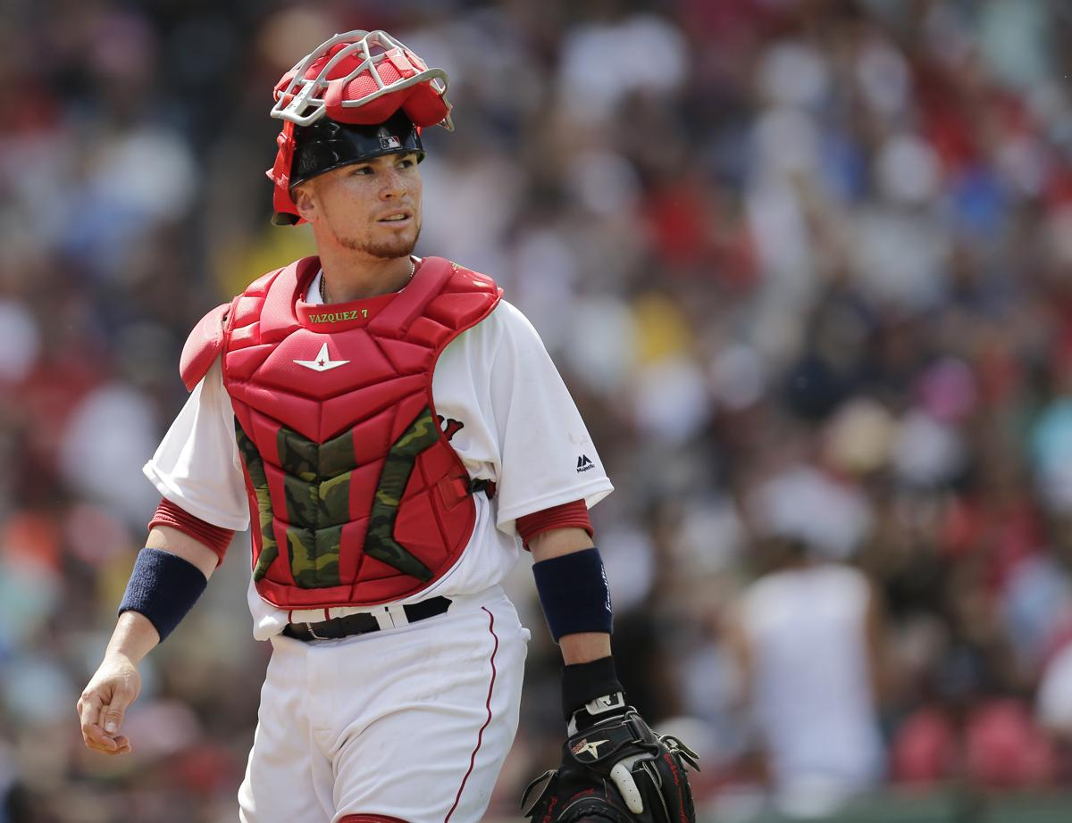 Red Sox Notebook  Christian Vazquez may catch on as postseason backup 3fac92ef365