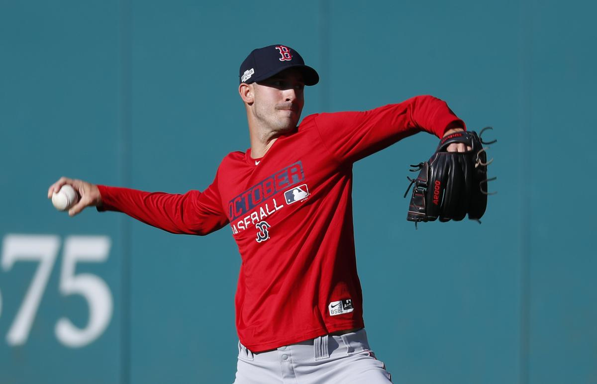 American League Division Series Game 1: Red Sox at Indians