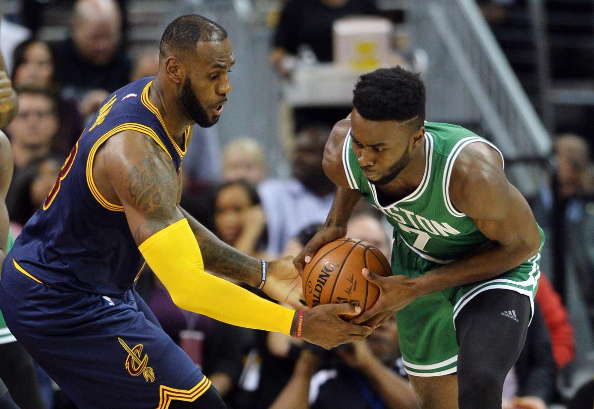 eff275373 Jaylen Brown impressed LeBron James. And LeBron let him know it