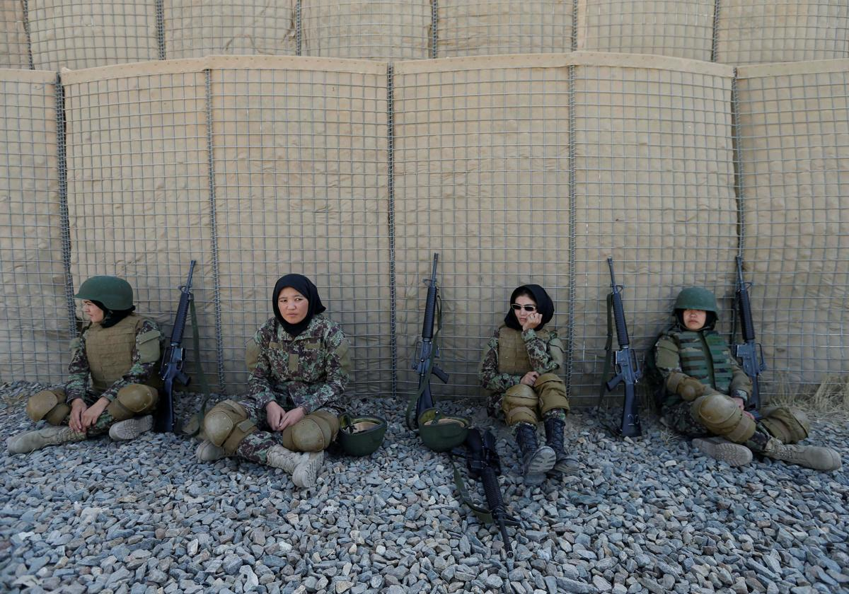 Training Afghanistan's women soldiers - The Boston Globe