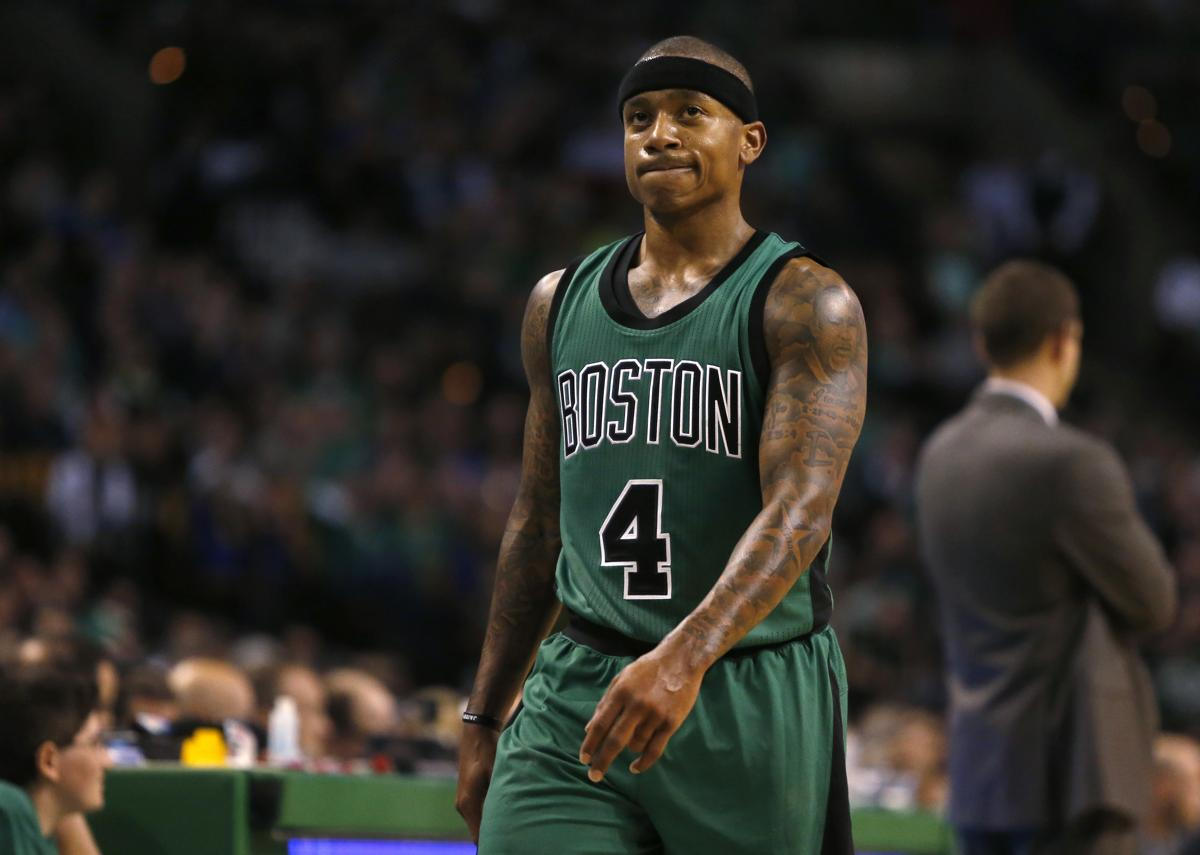 Image result for isaiah thomas celtics