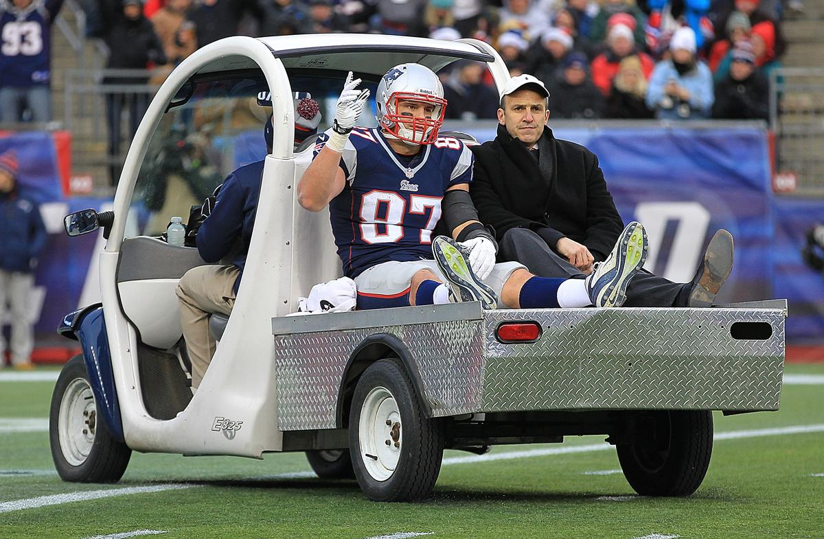 Image result for rob gronkowski injuries