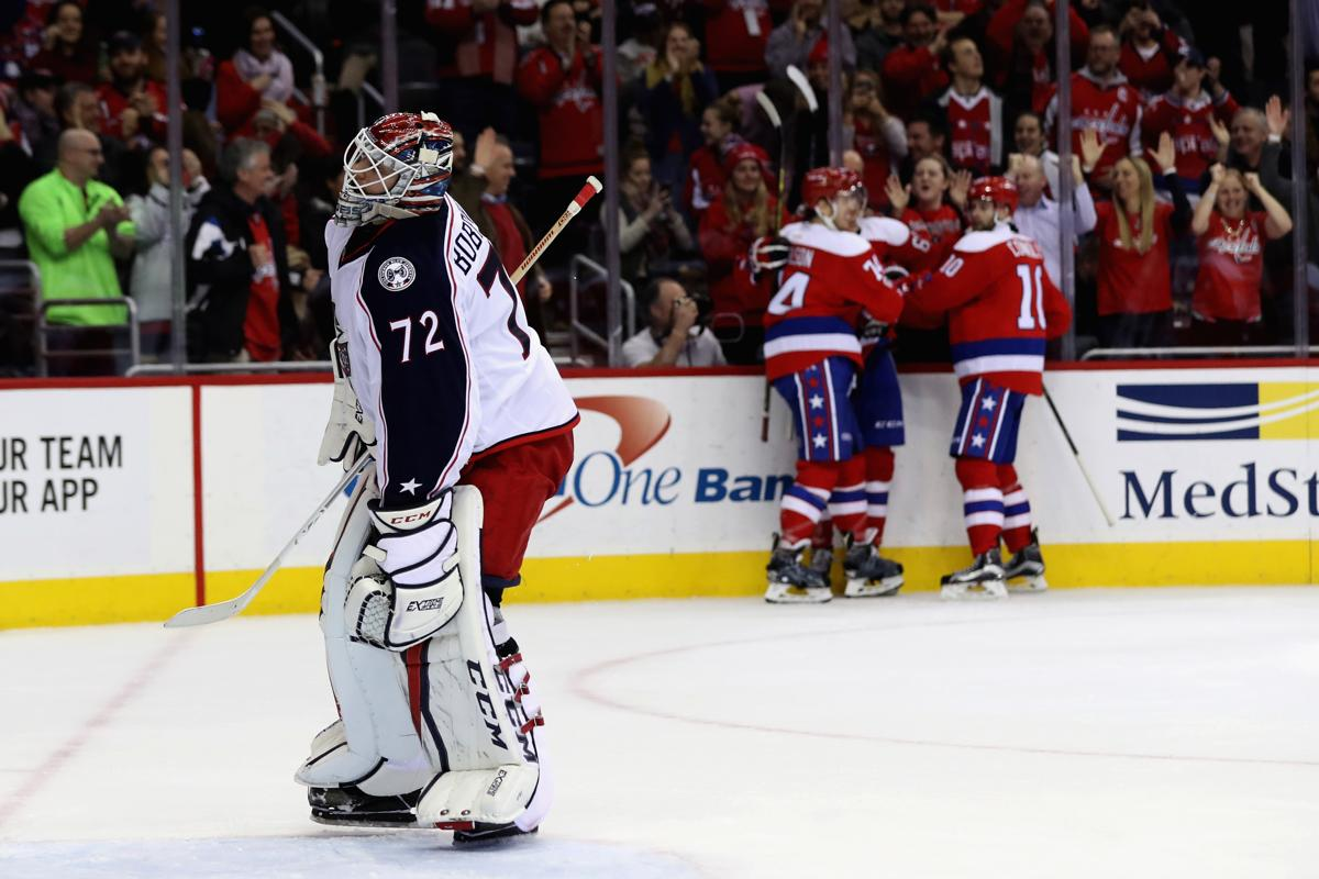 Capitals end Blue Jackets' 16-game win streak