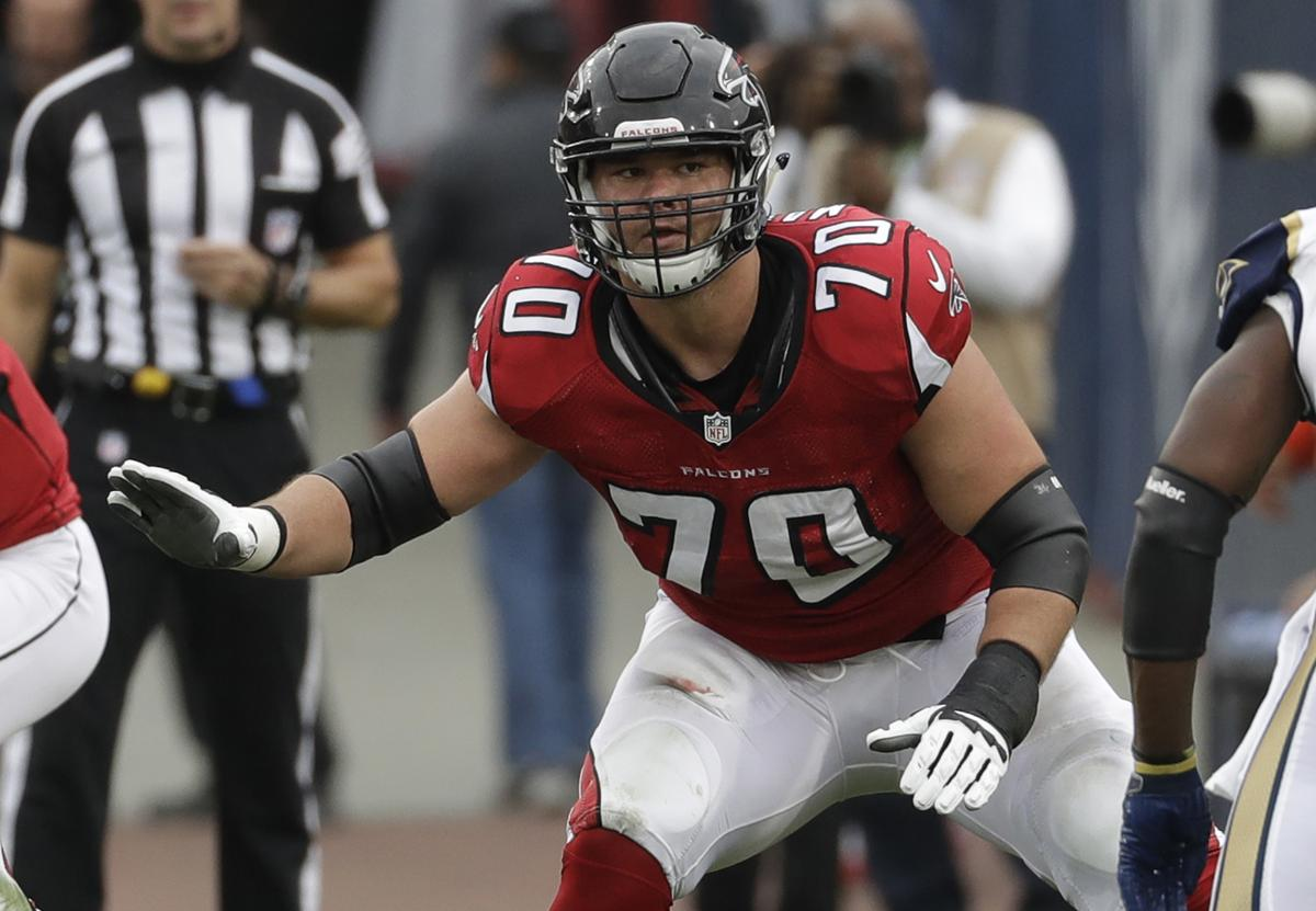 Falcons Jake Matthews falls back on family experience