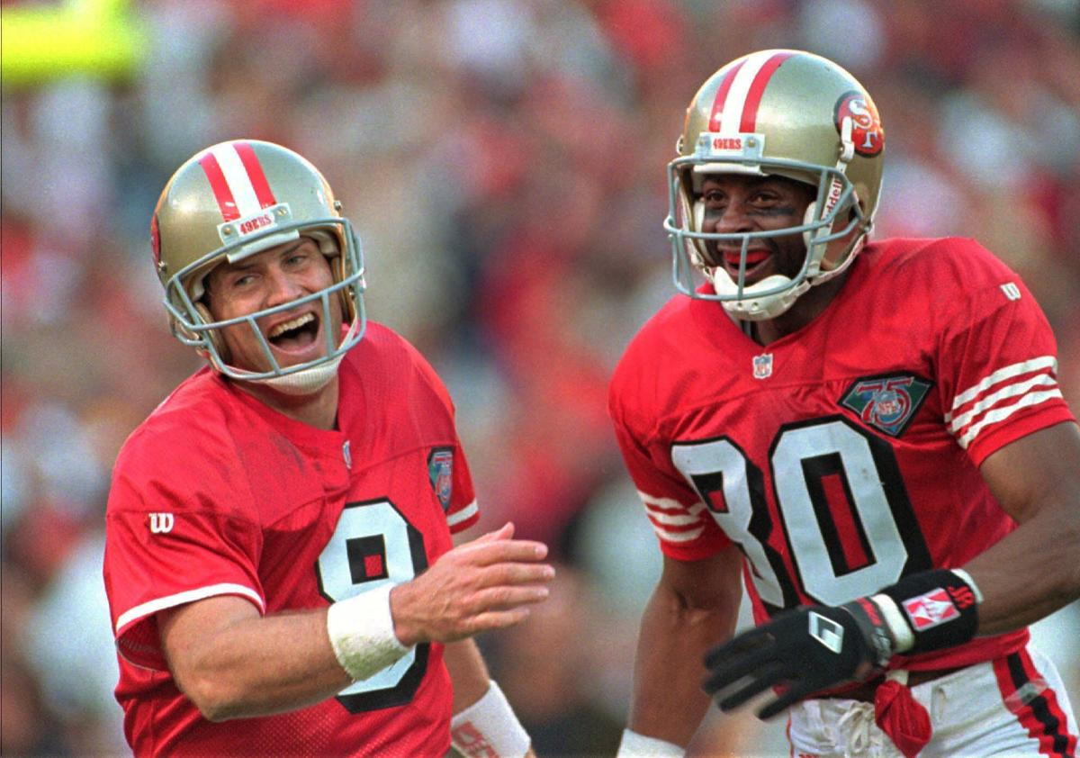 Jerry Rice Touchdown