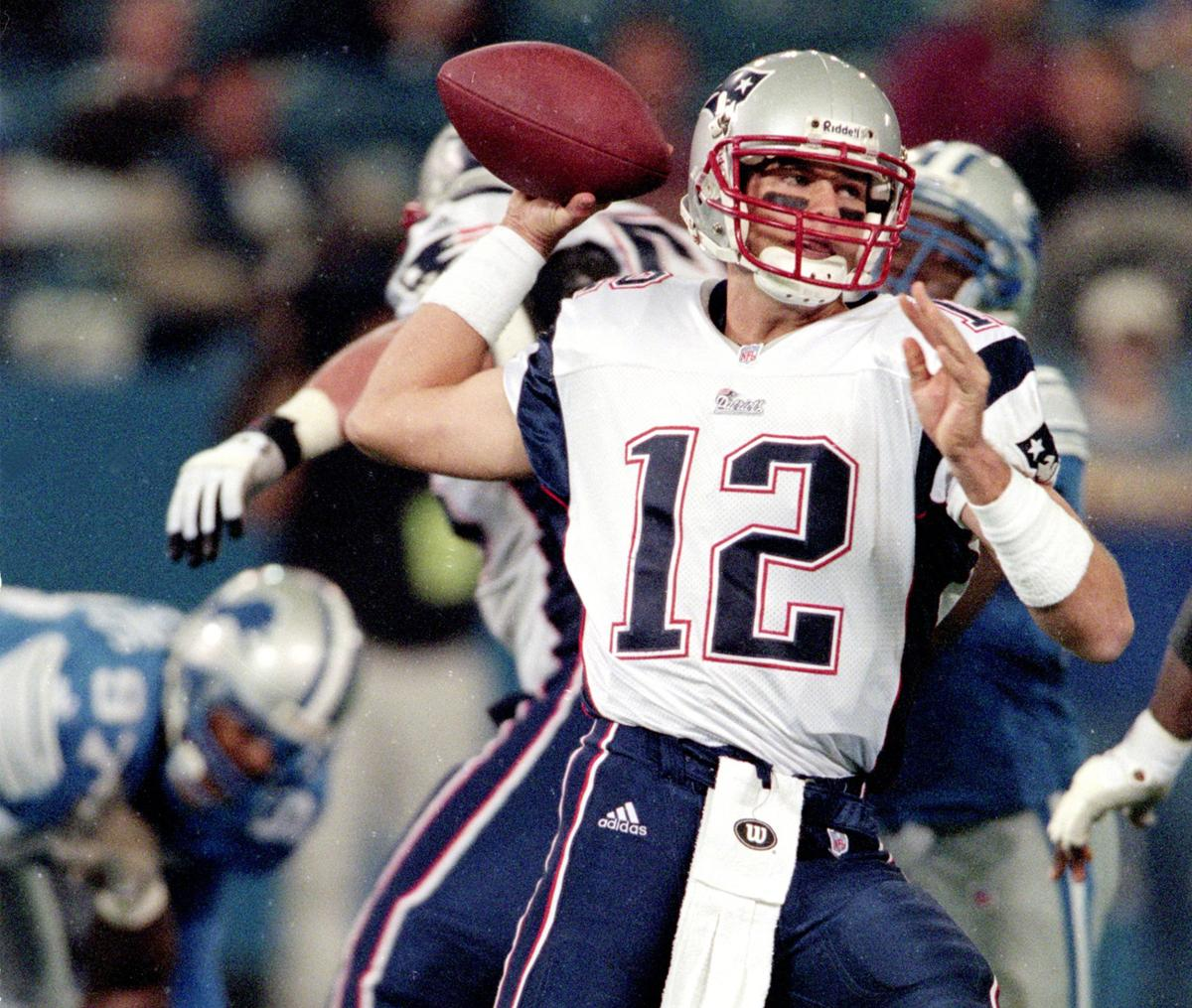 Brady made his NFL debut against the Lions on Nov. 23, 2000.
