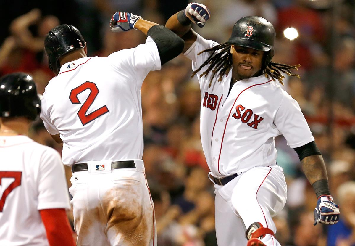 Image result for xander bogaerts and hanley ramirez