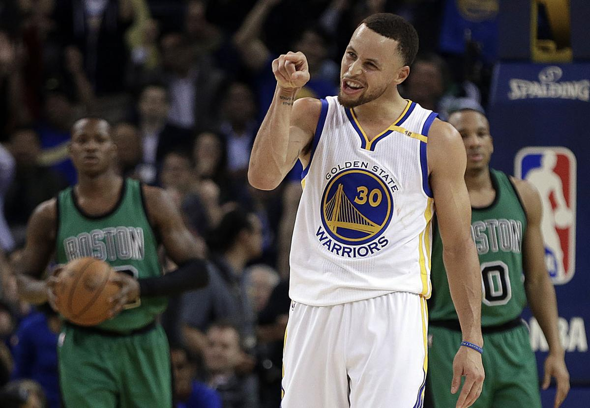 What was with stephen currys pointed response to jaylen brown golden state warriors stephen curry points to boston celtics jaylen brown during the second m4hsunfo