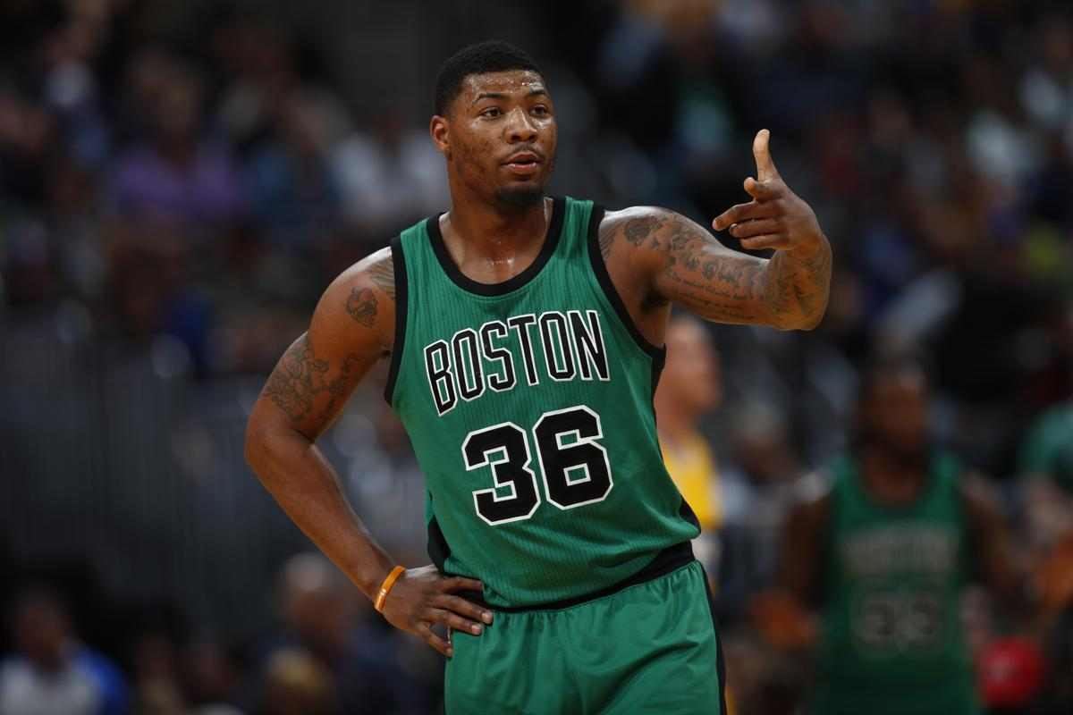marcus smart 43 jersey