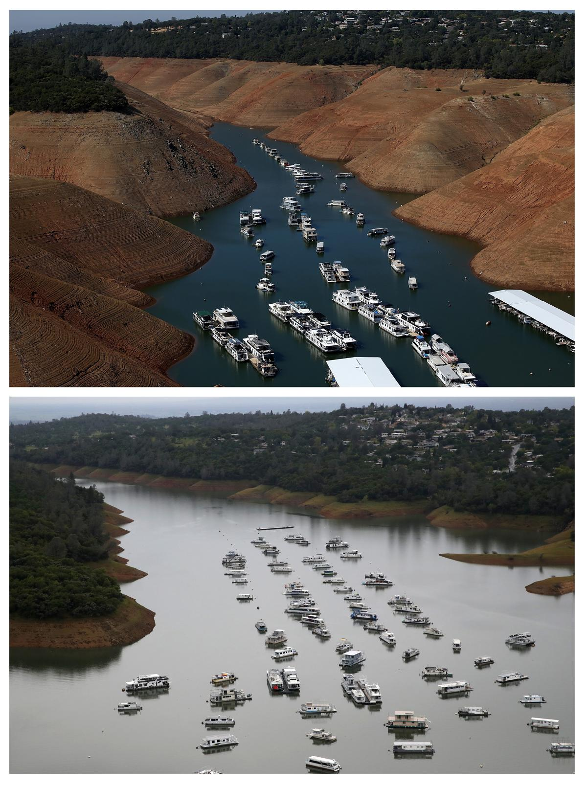 California drought: then and now - The Boston Globe