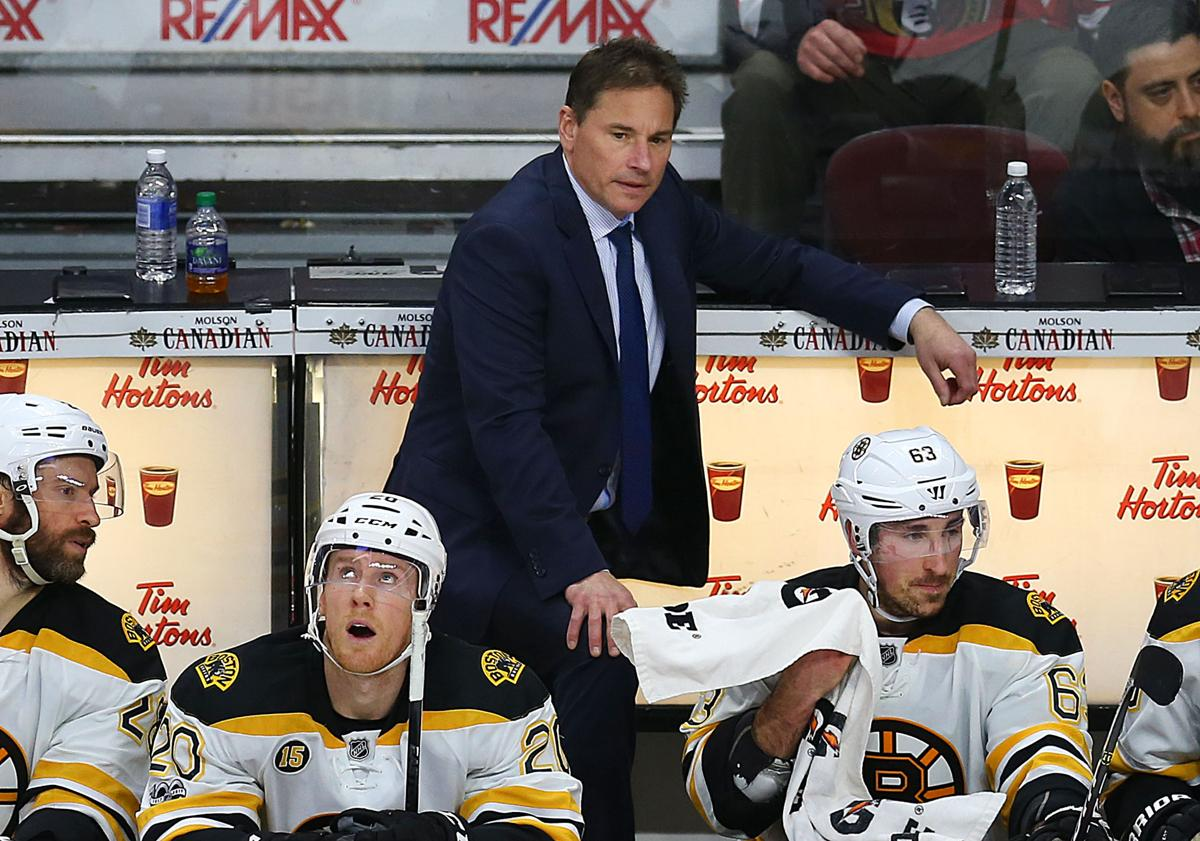 Image result for Bruce Cassidy bruins loss