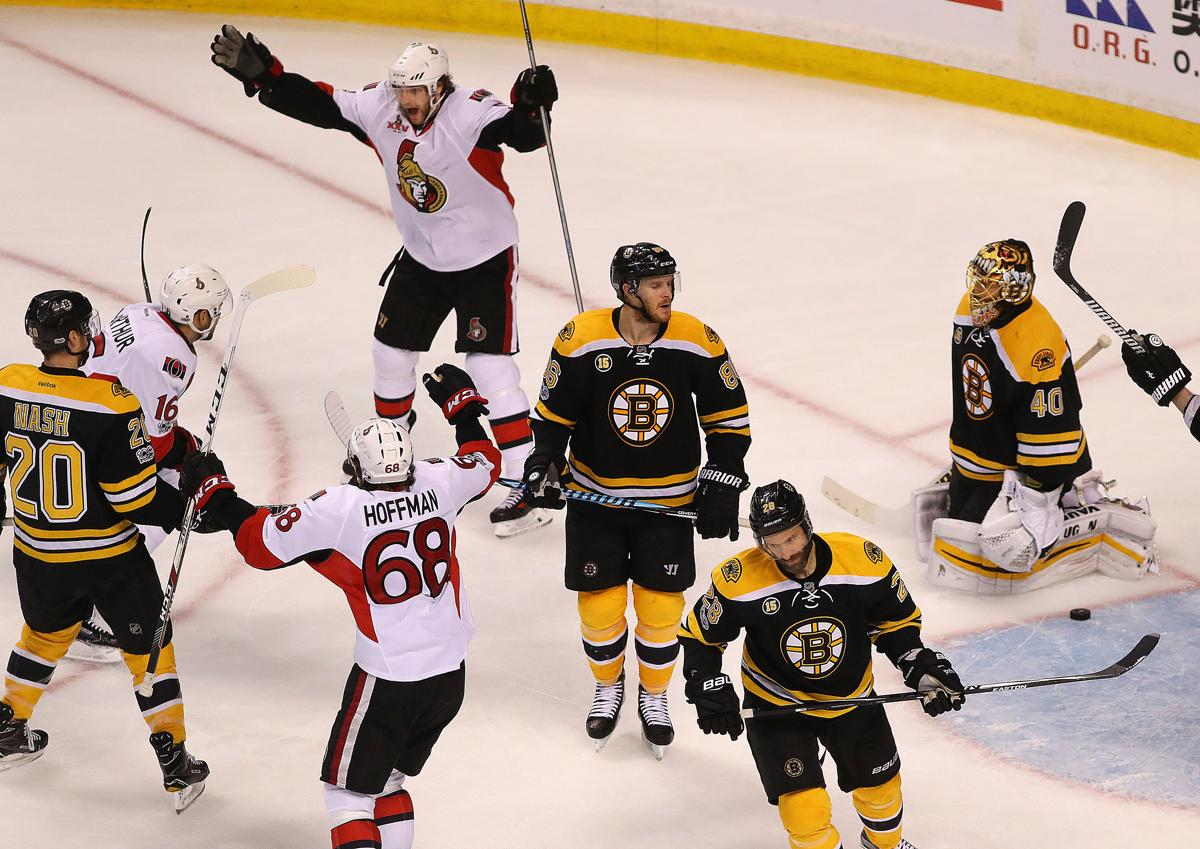 05f508c3ecf Bruins eliminated in overtime in Game 6 by Senators