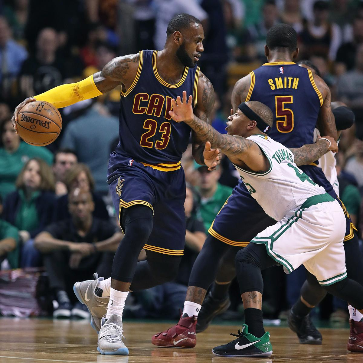 Stong quote by lebron james on the bond with his teammates - Boston Ma May 17 2017 The Celtics Isaiah Thomas Tries To Cover The Isaiah Thomas Gives His Best Shot At Keeping Lebron James