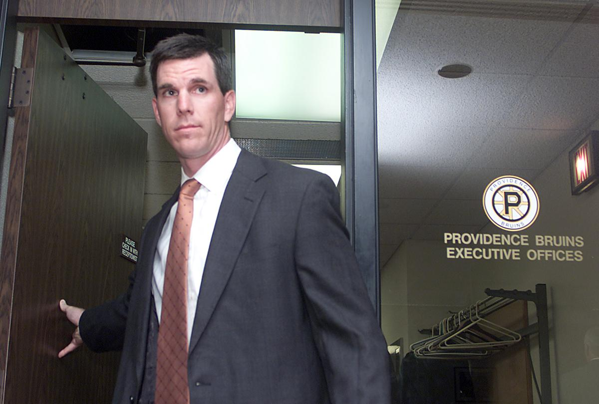 Mike Sullivan served as the P-Bruins head coach for the 2002-03 season dc95ab66c