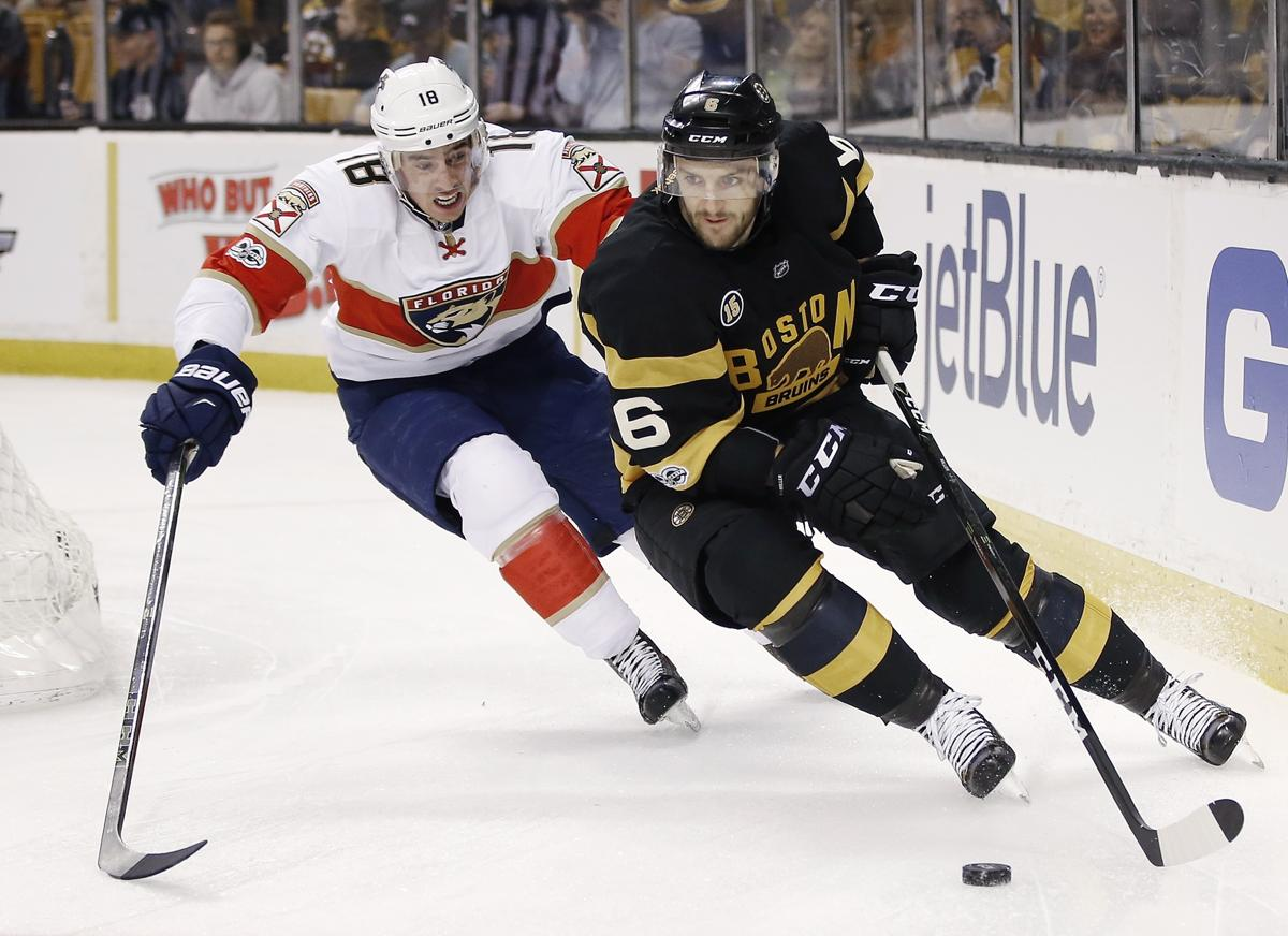 bac6e27ec02 Why the Bruins chose to leave Colin Miller unprotected. By Fluto Shinzawa. Florida  Panthers  Reilly Smith ...